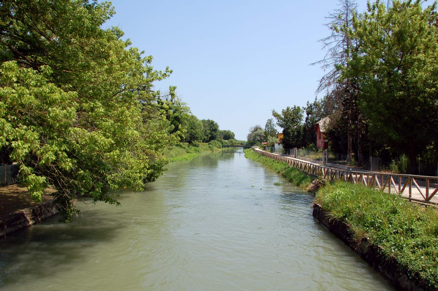 Il fiume Piavon a Cessalto