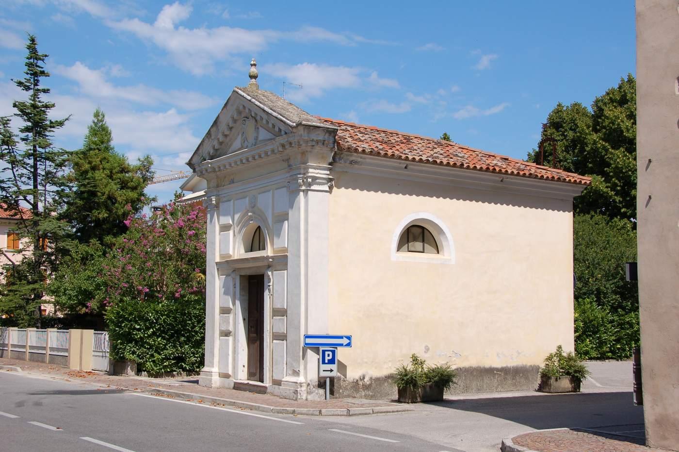 La chiesetta di palazzo Loredan